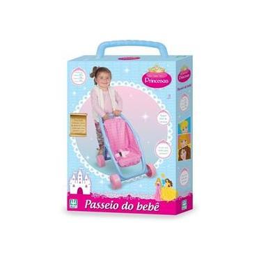 Imagem de Carrinho De Boneca Passeio Bebe Alive Princesa Menina - Nig
