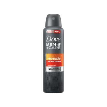 Desodorante Dove Men+Care Antibac Aerossol - Antitranspirante Masculin