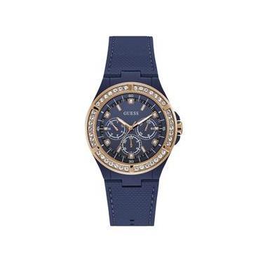 ef4e42bd35a Relógio feminino guess esportivo multifunção 92688LPGSRU1