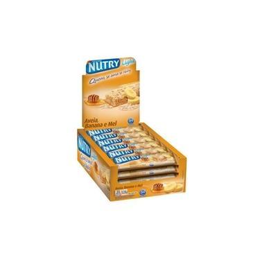 Barra Cereal Nutry Ban/Aveia/Mel Com 24 unidades