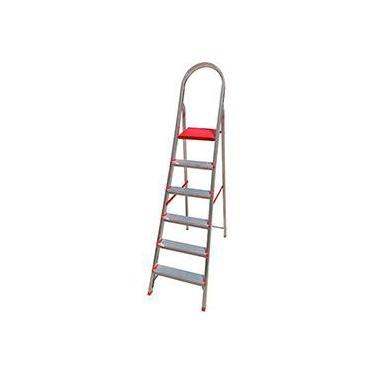 fa8b368c63 Escada de 6 Degraus Botafogo Lar Lazer Suprema - Alumínio