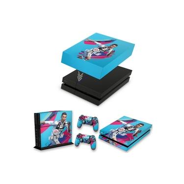 Capa Anti Poeira e Skin para PS4 Fat - Fifa 19