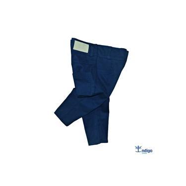 Calça Infantil Casual Azul Marinho Menino Índigo Trend