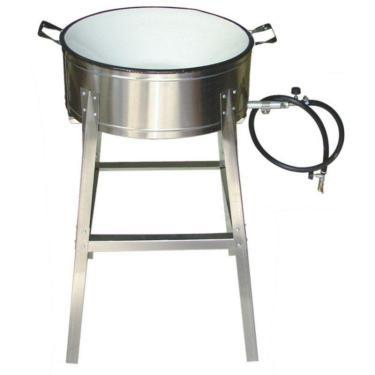 """Fogão Pasteleiro a Gás em Aço Inox Alta Pressão 16"""" Alfa"""