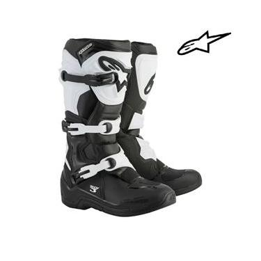 Bota Alpinestars Tech 3 Preto/ Branco 10 usa /41-42 Bra
