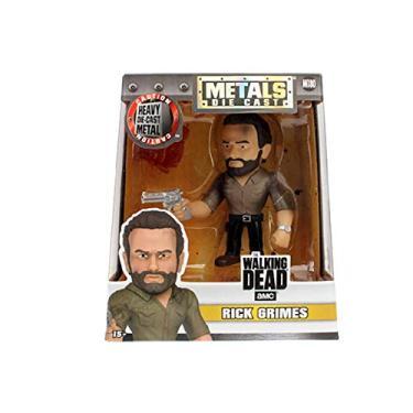 Figura Colecionavel 10 Cm Metals The Walking Dead Rick Grimes - Dtc