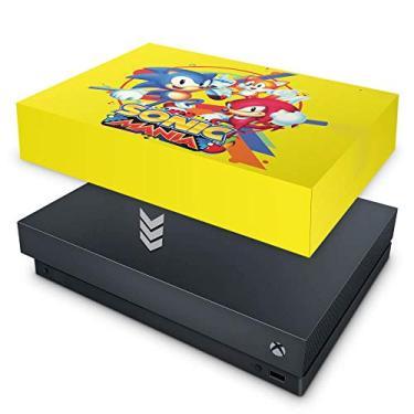 Capa Anti Poeira para Xbox One X - Sonic Mania
