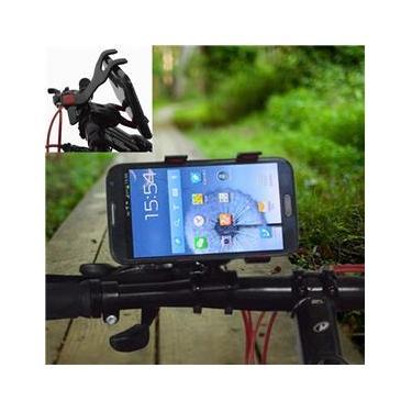 """Suporte Universal p/ GPS,Celular,Tablet 7"""" Bike, Moto, Quadriciclo Preto CBRN0043"""