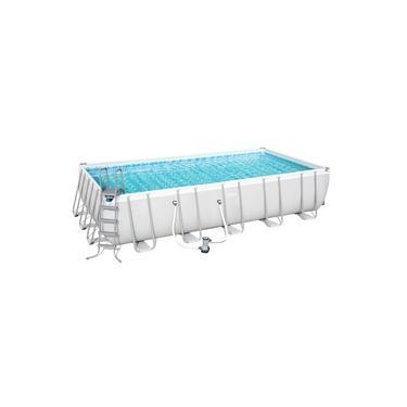 Piscina Estruturada 26.845l Frame Pool 6.71m x 3.66m x 1.32m Filtro 5678 l/h