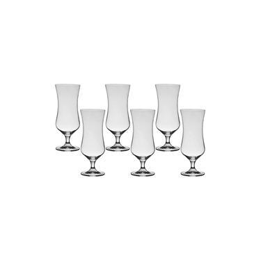 6 Taças De Cristal Para Cocktail 450 ml Linha Forum Bohemia Cristal