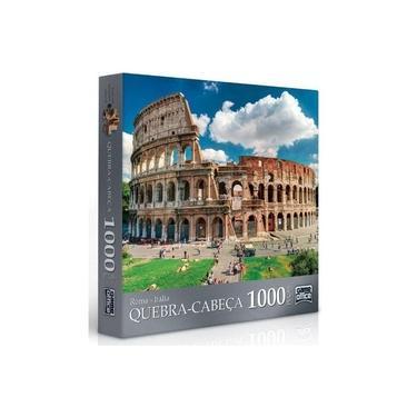 Imagem de Quebra Cabeça Roma 1000 Peças Toyster