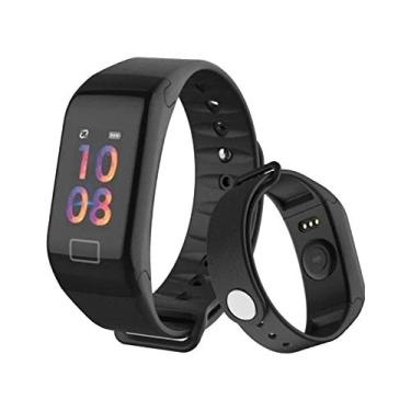 RELOGIO INTELIGENTE TOMATE MTR-22 MI BAND 4 SMART WATCH ANDROID IOS