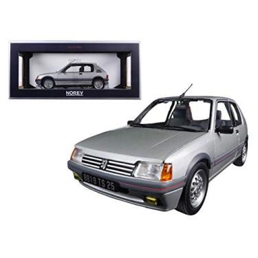 Imagem de 1988 Peugeot 205 Gti 1.6 Futura Grey 1/18 Diecast Model Car by Norev