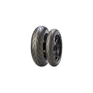 Kit de Pneus 200/55-17 + 120/70-17 Pirelli Diablo Rosso 3