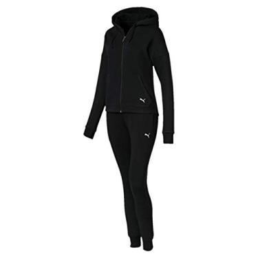 Agasalho Fem Puma Sweat Suit 854100-01 M Preto
