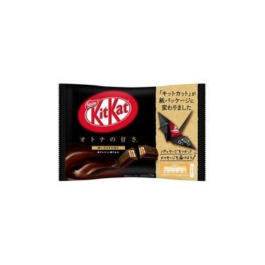 Chocolate Kit Kat Dark Otona No Amasa Japão Nestle 146,9 G