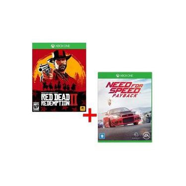 Game - Red Dead Redemption 2 + Need for Speed: Payback - Xbox One