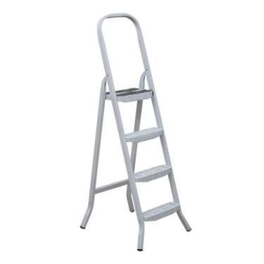 Imagem de Escada em Aço Maestro 4 Degraus