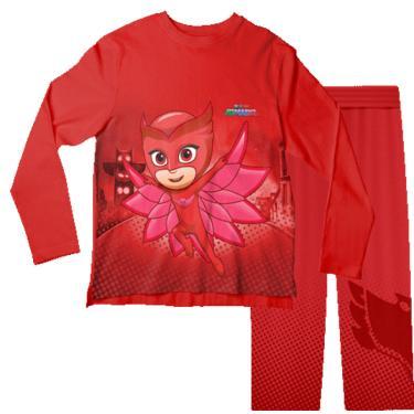 Pijama Infantil Corujita Pjmasks Pjml