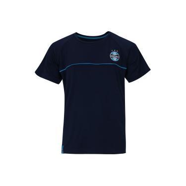 cd58376938 Camiseta do Grêmio Meltex - Infantil - AZUL ESCURO Meltex