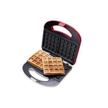 Máquina de Waffle Cadence Vermelho WAF100