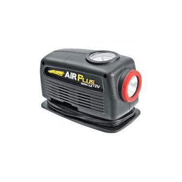 Compressor para Acendedor de Carros com Lanterna AIR PLUS 12V SCHULZ -