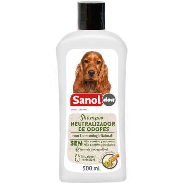 Shampoo Sanol Dog Neutralizador de Odores - 500 ml