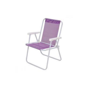 Cadeira de Praia Dobrável em Alumínio 1 Nível Mor Sannet