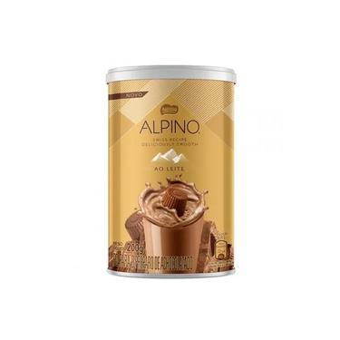 Achocolatado em Pó Alpino 200g
