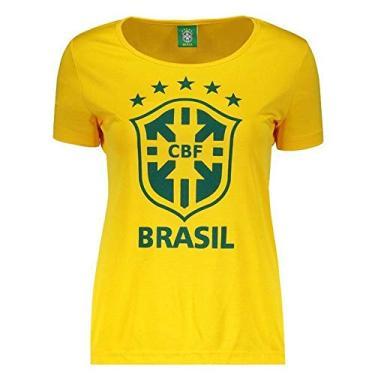 Camisas de Times de Futebol Casuais Brasil  5da9a0031cdee