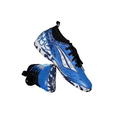 Imagem de Chuteira Penalty RX Locker VII Futsal Juvenil Azul