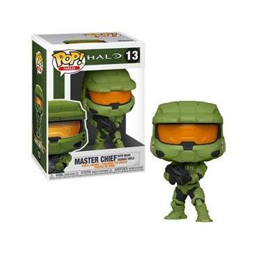 Imagem de Funko Pop Halo: Master Chief With Ma40 Assault 13