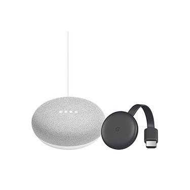 Google Chromecast 3 + Google Nest Mini - Giz