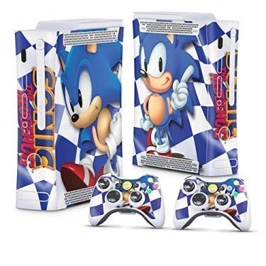 Skin Adesivo para Xbox 360 Fat Arcade - Sonic The Hedgehog