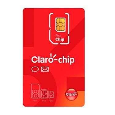 Chip 4G Triplo Corte Claro