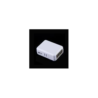 4 USB 5V 2.1A Adaptador ac uk plug carregador de parede para iPhone iPad Samsung htc LG Smartphone Tablet