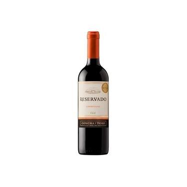 Kit : 4 Vinhos Importados Chileno Concha Y Toro Reservado carmenere 750ml