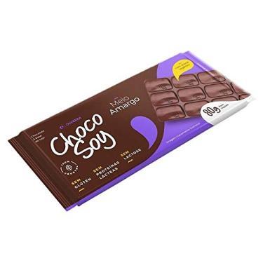 Imagem de Chocolate sem Lactose Choco Soy Meio Amargo 80g - Olvebra