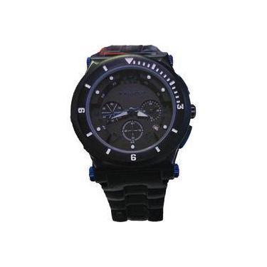 5b6e7ae7719 Relógio Victor Hugo Mostrador Preto - Vh10064gsb 02m