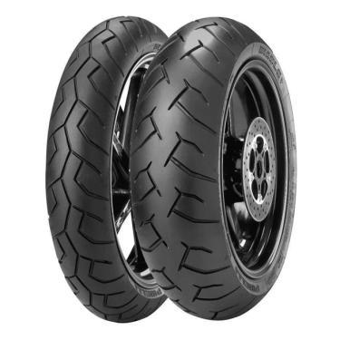 Pneu Pirelli Diablo 160/60-17 + 120/70-17 Combo