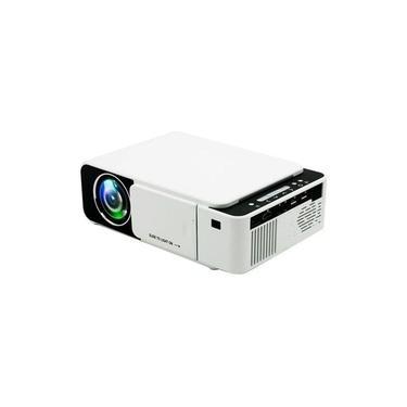 Mini Projetor Data Show Retroprojetor LED Portátil WiFi 2200 Lúmens espelha Celular