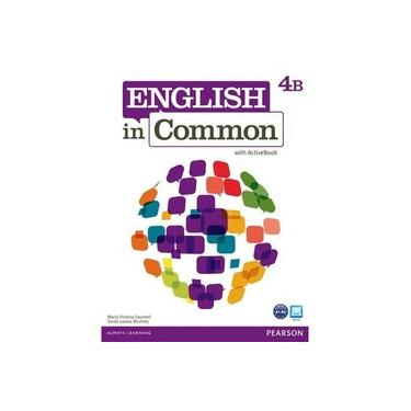 English In Common 4 Split B W/Act Bk Cd-Rom 1E - Capa Comum - 9780132628914