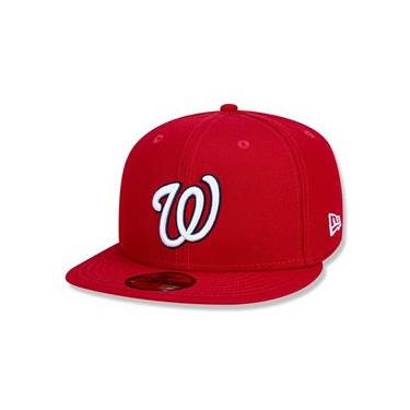 Bone 59Fifty Washington Nationals Mlb Vermelho