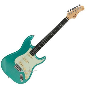 Imagem de Guitarra Elétrica Tagima Stratocaster TG-500 Madeira Verde Tagima