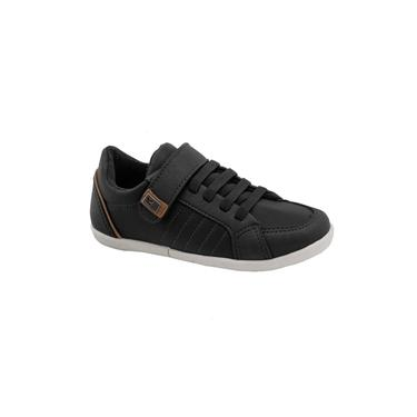 Sapato Infantil Klin Flyer 167 Preto/Caramelo