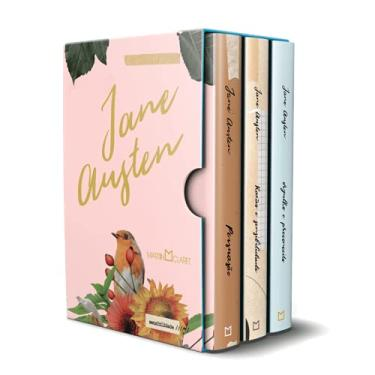 Imagem de Box Jane Austen - 3 Volumes - Razão e Sensibilidade, Orgulho e Preconceito e Persuasão - Brochura