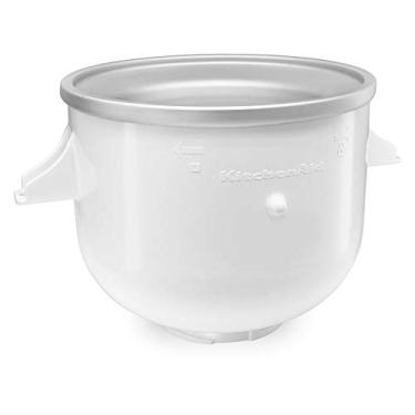 Imagem de Sorveteira Branca para Stand Mixer KitchenAid KIP01CX Branco