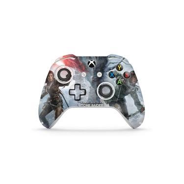 Skin Adesivo para Xbox One Slim X Controle - Rise Of The Tomb Raider