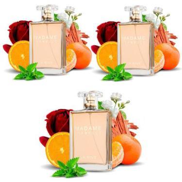 Imagem de Kit 3 Perfumes Importados Femininos Madame Isabelle La Rive