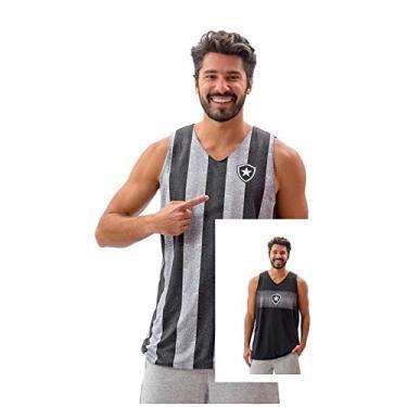 Regata Botafogo Dupla Face Smell Braziline - Masculina